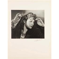 Lucille Ball exhibition portrait from Dance, Girl, Dance by Ernest A. Bachrach