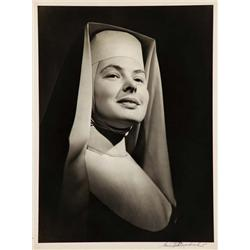 Ingrid Bergman exhibition portrait from The Bells of St. Mary's by Ernest A. Bachrach