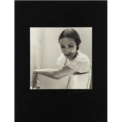 Dolores Del Rio exhibition portrait from Flying Down to Rio by Ernest A. Bachrach