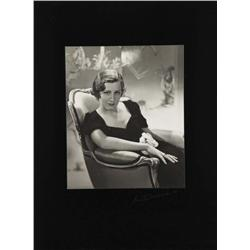Irene Dunne exhibition portrait from The Silver Cord by Ernest A. Bachrach
