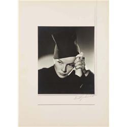 Katharine Hepburn exhibition portrait from Sylvia Scarlett by Ernest A. Bachrach