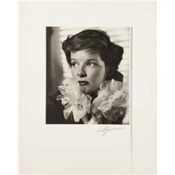 Katharine Hepburn exhibition portrait from Alice Adams by Ernest A. Bachrach