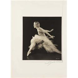 Harriet Hoctor exhibition portrait from Shall We Dance by Ernest A. Bachrach