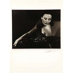 Michele Morgan exhibition portrait by Ernest A. Bachrach