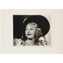 Ginger Rogers exhibition portrait from The Gay Divorcee by Ernest A. Bachrach