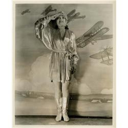 Clara Bow portrait from Wings by Eugene Robert Richee