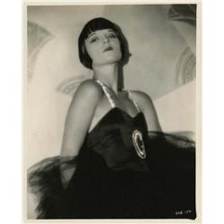 Louise Brooks portrait from Now We're in the Air by Eugene Robert Richee