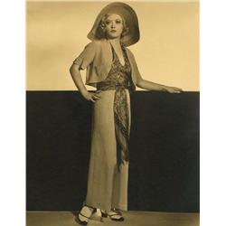 Marion Davies oversize gallery portrait by Clarence Sinclair Bull