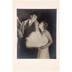 Marlene Dietrich oversize gallery portrait from Zwei Kravatten by Baron Wolff von Gudenberg