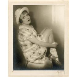Marlene Dietrich oversize gallery portrait by Baron Wolff von Gudenberg