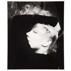 Marlene Dietrich oversize portrait by Milton Greene