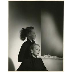 Marlene Dietrich and daughter Maria Riva oversize portrait by Horst P. Horst