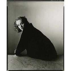 Marlene Dietrich artist proof contact print by Irving Penn
