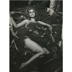 Jane Fonda key-set portraits from Barbarella