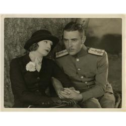 Greta Garbo and John Gilbert oversize gallery portrait from Love by Clarence Sinclair Bull