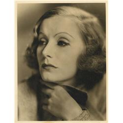 Greta Garbo oversize gallery portrait from As You desire Me by Clarence Sinclair Bull