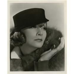 Greta Garbo gallery portrait from Grand Hotel by Clarence Sinclair Bull