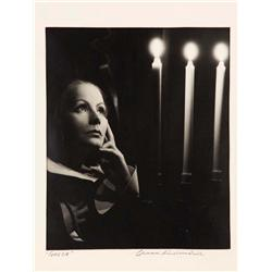Greta Garbo gallery portrait from Queen Christina by Clarence Sinclair Bull