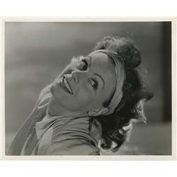 Greta Garbo gallery portrait from Two-Faced Woman by Clarence Sinclair Bull