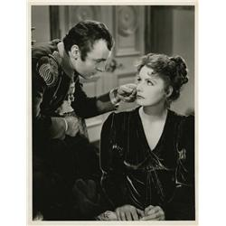 Greta Garbo and Charles Boyer gallery portrait from Conquest by William Grimes