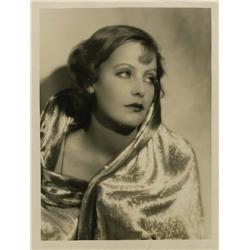 Greta Garbo oversize gallery portrait from Love by Ruth Harriet Louise