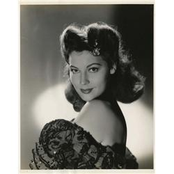 Ava Gardner key-set portraits from Three Men in White, The Bribe and My Forbidden Past