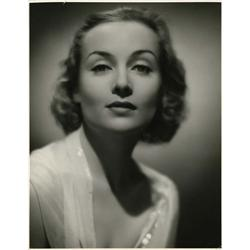 Carole Lombard oversize gallery portrait from Love Before Breakfast by Jack Freulich