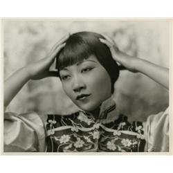Anna May Wong portrait by Irving Chidnoff