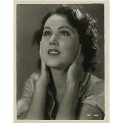 Fay Wray key-set portrait from The Sea God by Otto Dyar