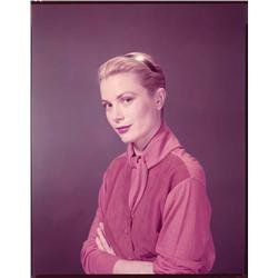 Grace Kelly color camera negative from Rear Window by Bud Fraker