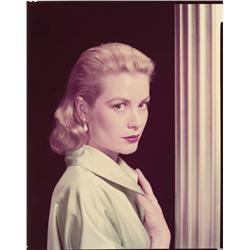 Grace Kelly color camera negatives from Rear Window by Bud Fraker