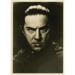 "Bela Lugosi photograph as ""Dracula"" from Lugosi's personal collection"