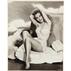 Three 16 x 20 in. matte double-weight portraits of Mitzi Gaynor from Les Girls