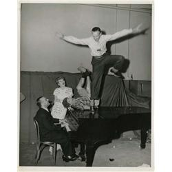 Collection of Hollywood U.S.O. photographs of Lucille Ball, James Cagney, Fred Astaire and others