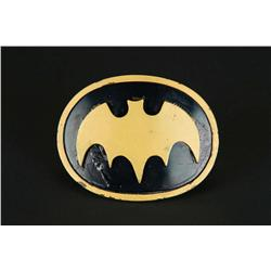 "Original Yvonne Craig ""Batgirl"" belt buckle from Batman"