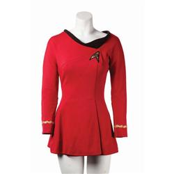 Woman's Starfleet uniform from Star Trek: The Original Series