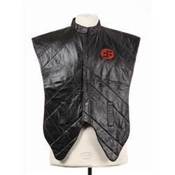"""Shocktrooper vest and black """"Visitors"""" cap from V"""