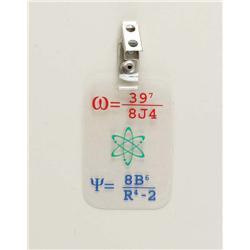 "Dennis Wolfberg ""Gooshie"" badge from Quantum Leap"