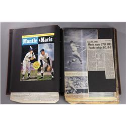 Prop Maris' family scrapbook from 61*