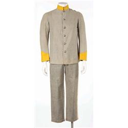Confederate cavalry costume attributed to Gone With the Wind