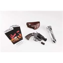 """Russell Crowe """"Bud White"""" stunt rubber pistol with leather holster from L.A. Confidential"""