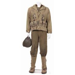 """Complete Jeremy Davies """"Cpl. Timothy E. Upham"""" costume from Saving Private Ryan"""