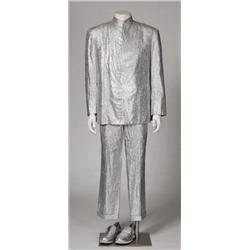 """Mike Myers """"Dr. Evil"""" silver suit from Austin Powers: The Spy Who Shagged Me"""