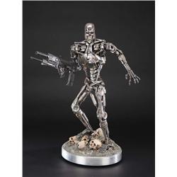 T-800 Terminator 1/3-scale endoskeleton statue