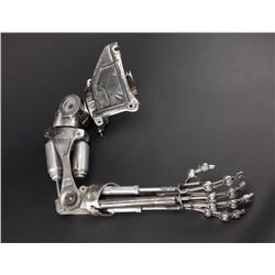 Screen-used hero T-800 Terminator endo arm and shoulder from The Terminator