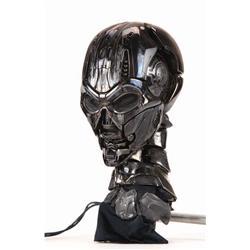 "Hero animatronic T-X ""Terminatrix"" endo skull and neck from Terminator 3: Rise of the Machines"