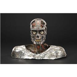 """Charles Rocket """"D5B"""" android head from The Steel Collar Man"""