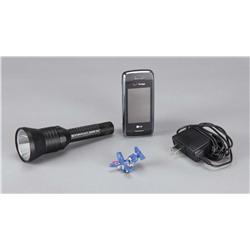 Agent Simmons' cellphone and flashlight from Transformers: Revenge of the Fallen