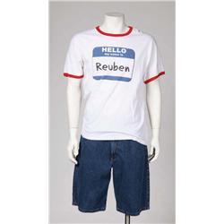 "John Turturro's denim shorts and ""Reuben"" t-shirt from Transformers: Revenge of the Fallen"