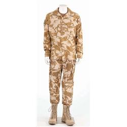 "Matthew Marsden's hero military costume worn as ""Graham"" from Transformers: Revenge of the Fallen"
